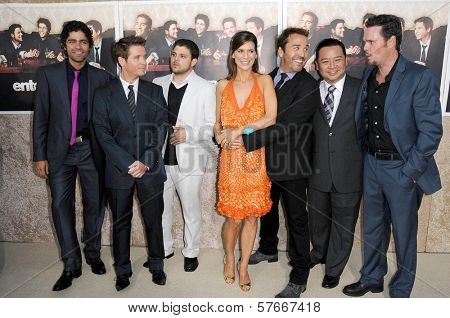 Cast of 'Entourage' at the Los Angeles Premiere of 'Entourage' Season Six. Paramount Theater, Hollywood, CA. 07-09-09