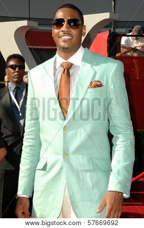 Carmelo Anthony  at the 17th Annual ESPY Awards. Nokia Theatre, Los Angeles, CA. 07-15-09