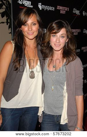 Briana Evigan and Margo Harshman at the 'Jennifer's Body' Party Hosted by Myspace-IGN. Kin Lounge, San Diego, CA. 07-23-09