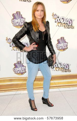 Kaylee DeFer  at Comedy Central's Roast of Joan Rivers. CBS Studios, Los Angeles, CA. 07-26-09