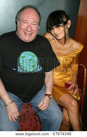 Kip King and Bai Ling at the Los Angeles Premiere of 'Bollywood Hero'. Cinespace, Hollywood, CA. 07-27-09
