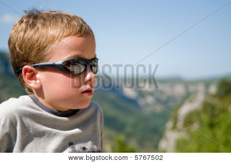 Young Boy In The Ardeche