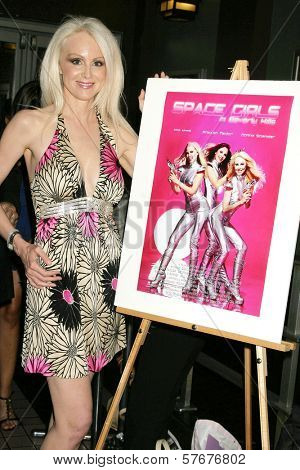 Donna Spangler  at the West Coast Premiere of 'Space Girls in Beverly Hills'. Regency Fairfax Cinema, Los Angeles, CA. 07-31-09