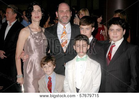 Matthew Weiner and family  at the premiere of 'Mad Men' Season Three. Directors Guild Theatre, West Hollywood, CA. 08-03-09