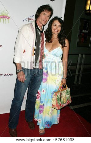 Ronn Moss and Devin DeVasquez at the Los Angeles Screening of 'Social Lights'. Regency Fairfax Cinemas, Los Angeles, CA. 08-05-09