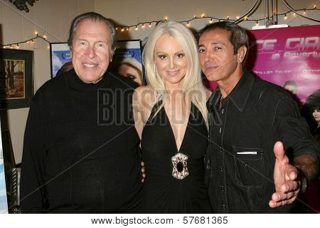 Richard Benveniste with Donna Spangler and Marco Derhy at the Los Angeles Screening of 'Social Lights'. Regency Fairfax Cinemas, Los Angeles, CA. 08-05-09