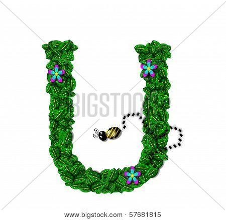 Alphabet Bee Buzz U