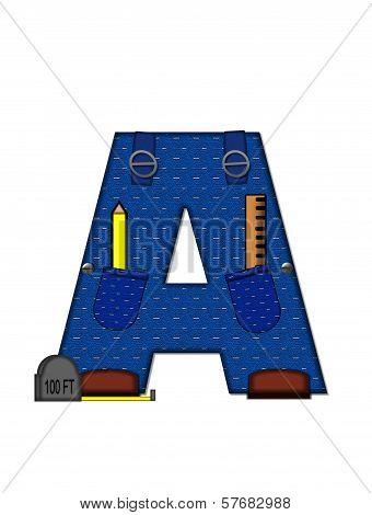 Alphabet Carpenter Tools A