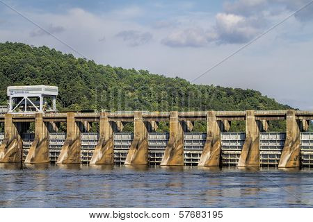 Alabama Joe Wheeler Dam