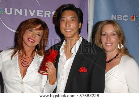 Dr. Gilbert Lee and Dianne York Goldman  at the NBC Universal 2009 All Star Party. Langham Huntington Hotel, Pasadena, CA. 08-05-09