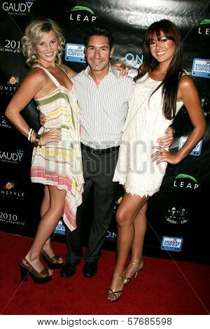 Lucy Rendler-Kaplan with Todd Michael Krim and Ashley Bent  at the Reality Cares Leap Foundation Benefit. Sunstyle Tanning Studio, West Hollywood, CA. 08-06-09