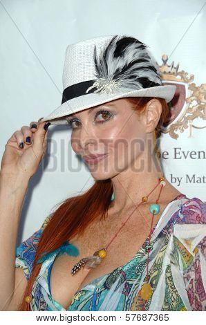 Phoebe Price at the Hollyshorts Haiti Charity VIP Webisode Celebration. Kress, Hollywood, CA. 08-08-09