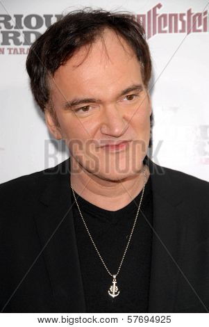 Quentin Tarantino  at the Los Angeles Premiere of 'Inglourious Basterds'. Grauman's Chinese Theatre, Hollywood, CA. 08-10-09