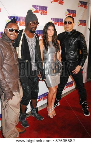 The Black Eyed Peas at the Jeepney Music Launch Party. ECCO, Hollywood, CA. 08-11-09