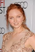 Lily Cole  at the AFI Fest Gala Screening of