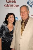 Winnie Holzman and Paul Dooley at the International Myeloma Foundation's 3rd Annual Comedy Celebrati