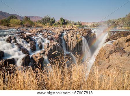 Epupa waterfalls long exposure