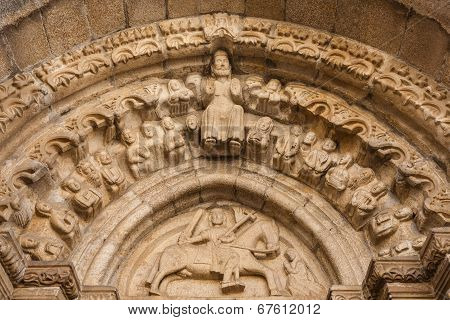 Romanesque Archivolts And Tympanum