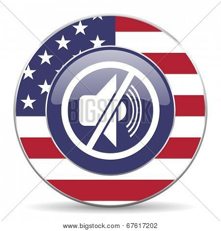 mute american icon