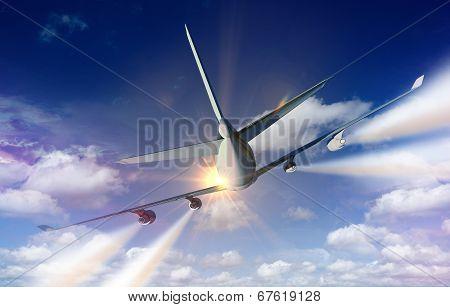 Airplane Traveling