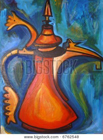 Arabian Coffeepot