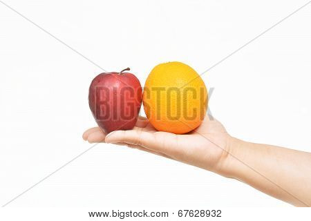 Offering Apple And Orange