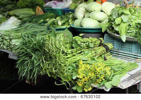 Vegetable Market, Thailand