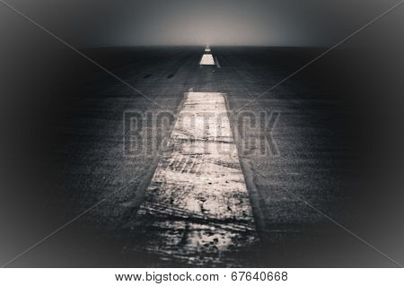 Abstract Dark Road