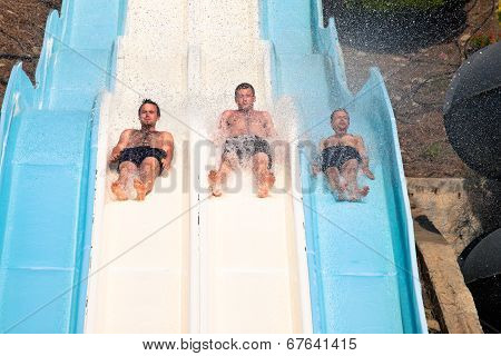 People At Aqua Park