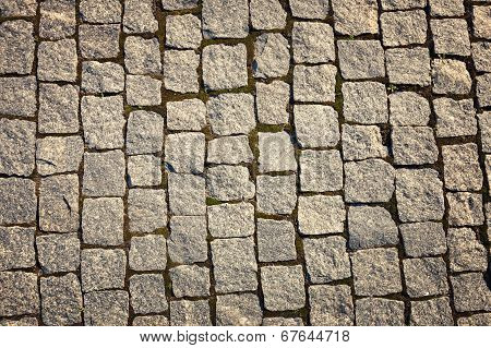 Stone-paved Road Surface