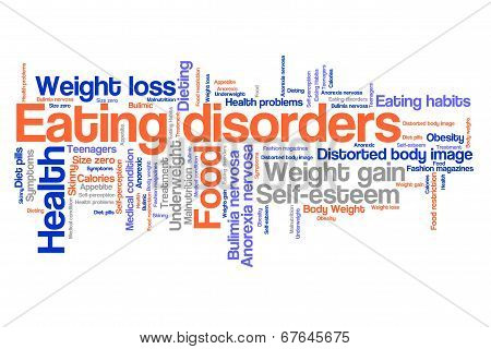Eating Disorder Concept
