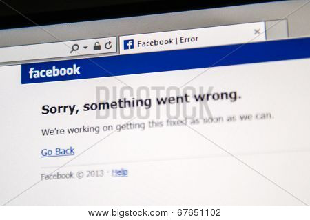Facebook Site Is Down