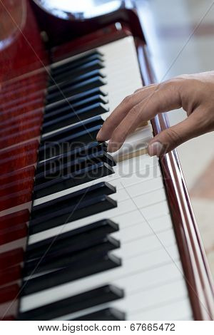 Playing Music On Piano