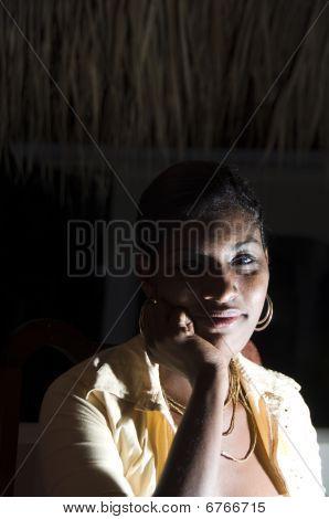 Sexy Nicaraguan Hispanic Latin Black Woman