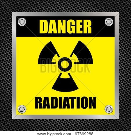 Radioactive Hazard Sign
