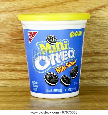Nabisco Mini Oreo Go-paks