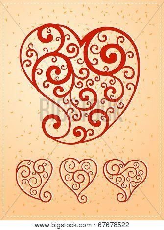 various heart symbol