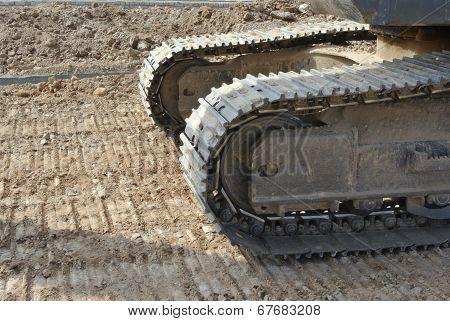 Excavator tracks