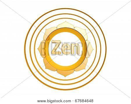 Golden Lotus Rings