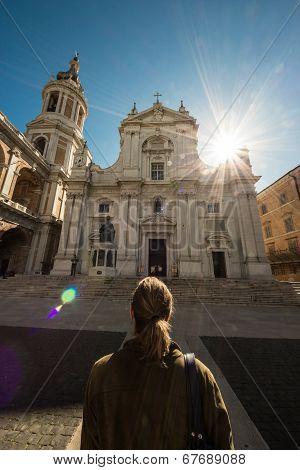 Sanctuary Of Loreto, Italy