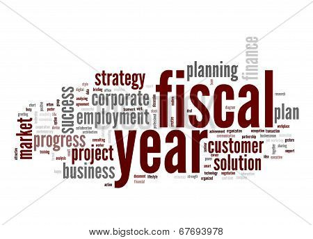 Fiscal Year Word Cloud