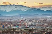 picture of olympic mountains  - Turin  - JPG