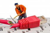 picture of crime solving  - workers - JPG
