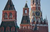 stock photo of chimes  - Chimes of the Spassky Tower of Moscow Kremlin