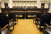 foto of court room  - Court Room in State Capitol Building  - JPG