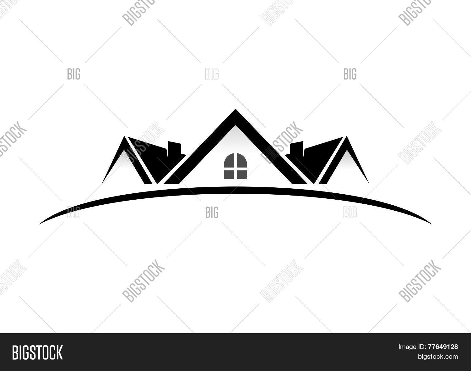 Real Eatate Home Vector Logo amp Photo Bigstock