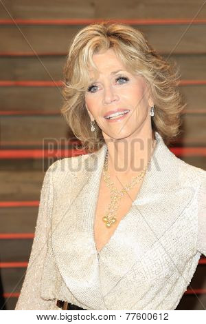 LOS ANGELES - MAR 2:  Jane Fonda at the 2014 Vanity Fair Oscar Party at the Sunset Boulevard on March 2, 2014 in West Hollywood, CA
