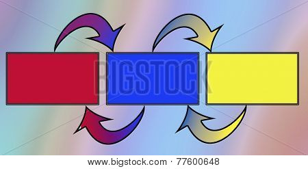 Colorful Arrows And Boxes