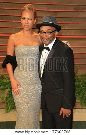 LOS ANGELES - MAR 2:  Spike Lee at the 2014 Vanity Fair Oscar Party at the Sunset Boulevard on March 2, 2014 in West Hollywood, CA