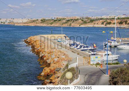 Small Boat Marina Cabo Roig